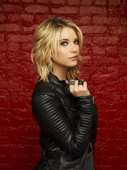 Tunsoare modernă la Ashley Benson, Foto: celebuzz.com