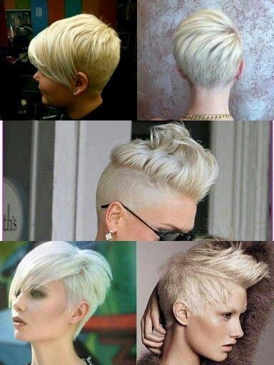 Tunsoare pentru păr scurt, Foto: pophaircuts.com
