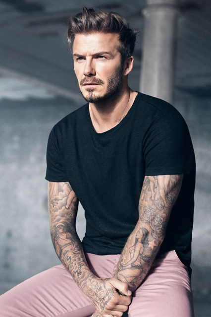 Tunsoare trendy la David Beckham, Foto: glamourmagazine.co.uk