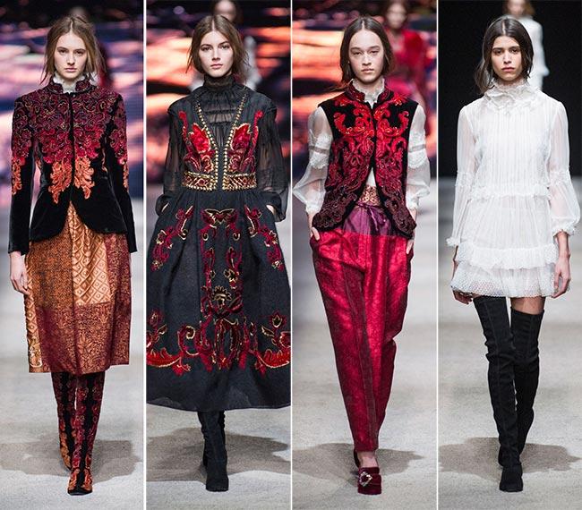 Colecția de modă Alberta Ferretti, Foto: fashionisers.com