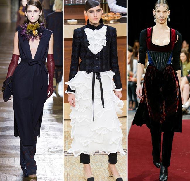 Fuste și rochii peste pantaloni, Foto: fashionisers.com