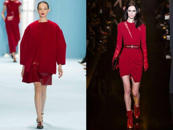 Moda în roșu în toamna-iarna 2015-2016, Foto: afmu.ne