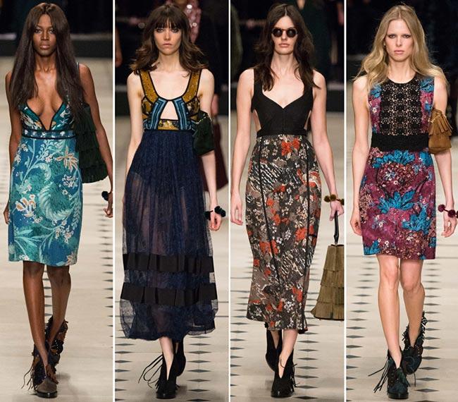 Rochii elegante marca Burberry Prorsum, Foto: fashionisers.com