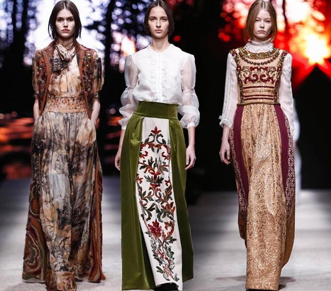 Rochii populare tradiționale Alberta Ferretti, Foto: fashionisers.com