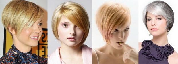 Coafuri pentru femei cu fața rotundă, Foto: babyportal.ru