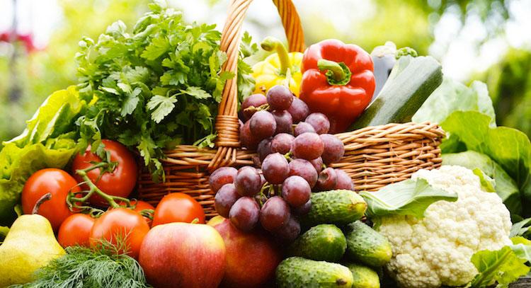 Fructe și legume, Foto: veganochilegge.com