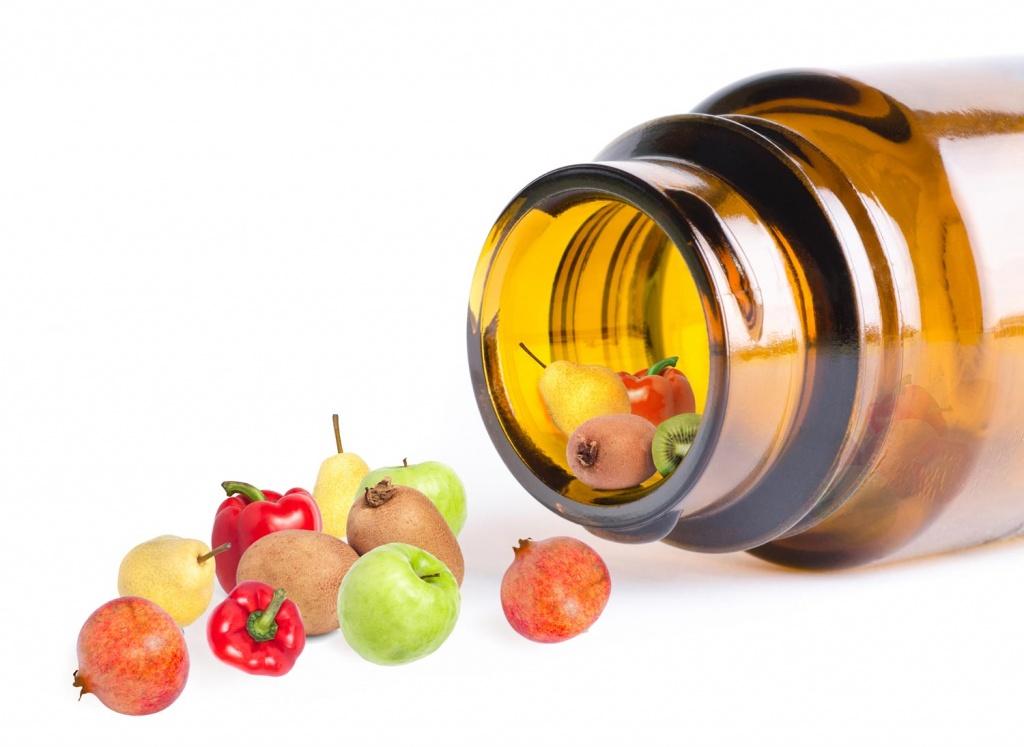 Fructe, suplimente de vitamine, Foto: toppik.ru