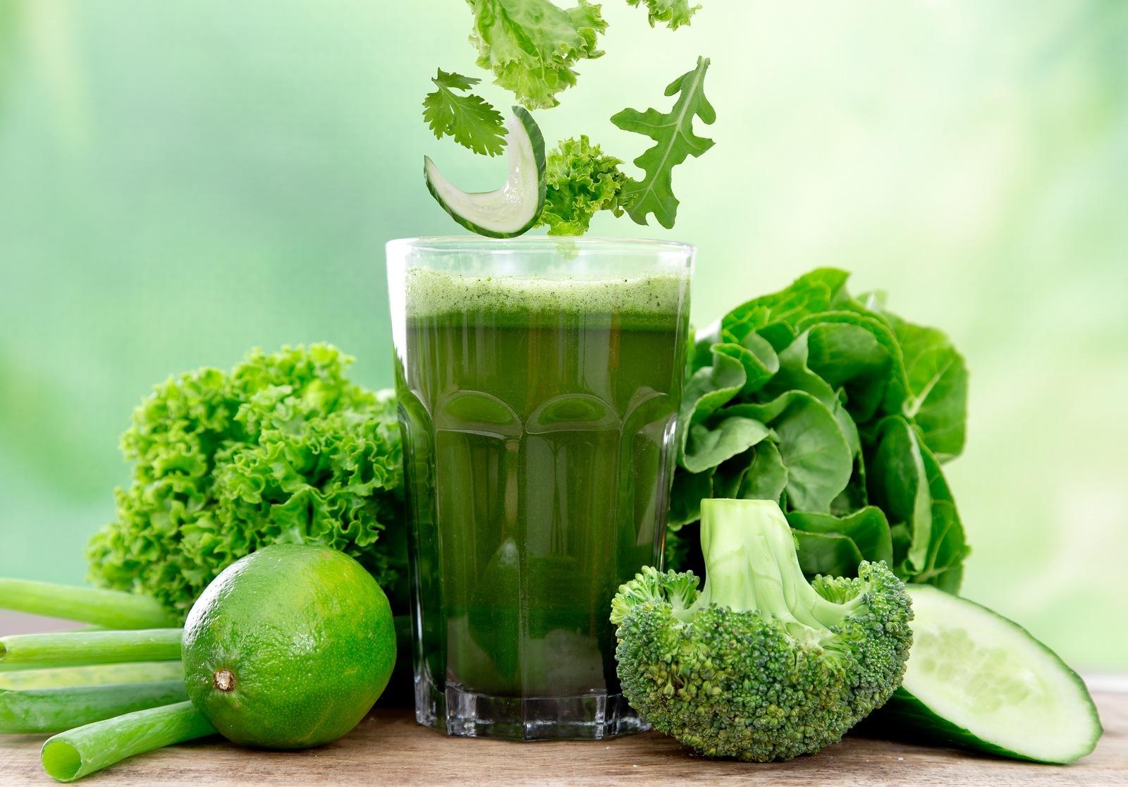 Suc de legume verzi, Foto: healthambition.com