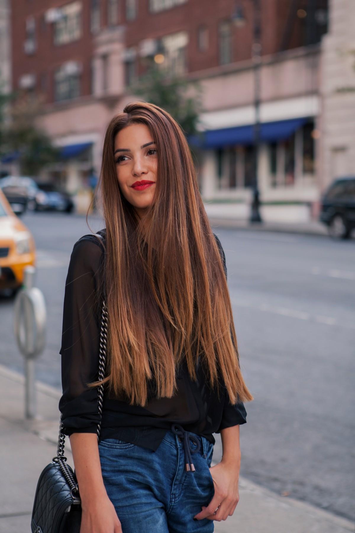 Coafură modernă pentru păr lung, Foto: jmbyxhesikatufa.com