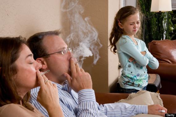 Fumul de țigară creează un disconfort copiilor, Foto: huffingtonpost.com