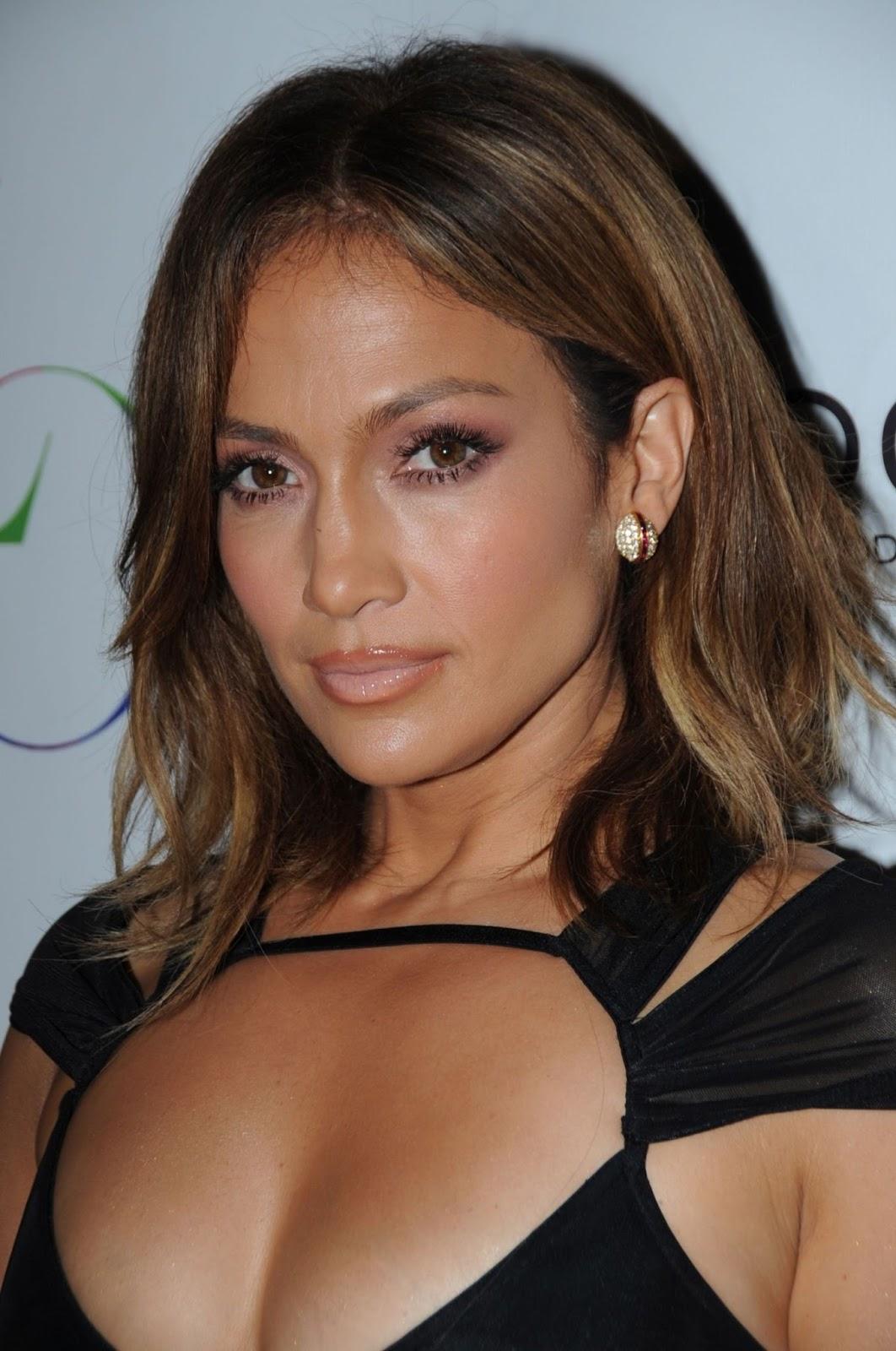 Jennifer Lopez are părul vopsit prin tehnica Bronde, Foto: acelebstoday.blogspot.com