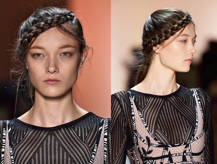 Coafură în tendințele modei din acest an, Foto: martinisandmascara.com