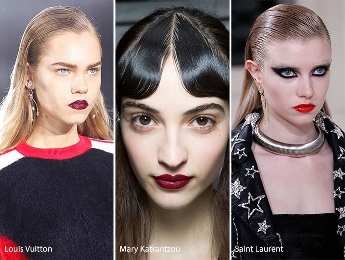 Coafuri cu efect de păr ud sau dat cu gel, Foto: fashionisers.com