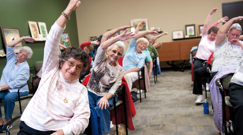 Exerciții pentru bătrâni, Foto: fenwickpublishing.com