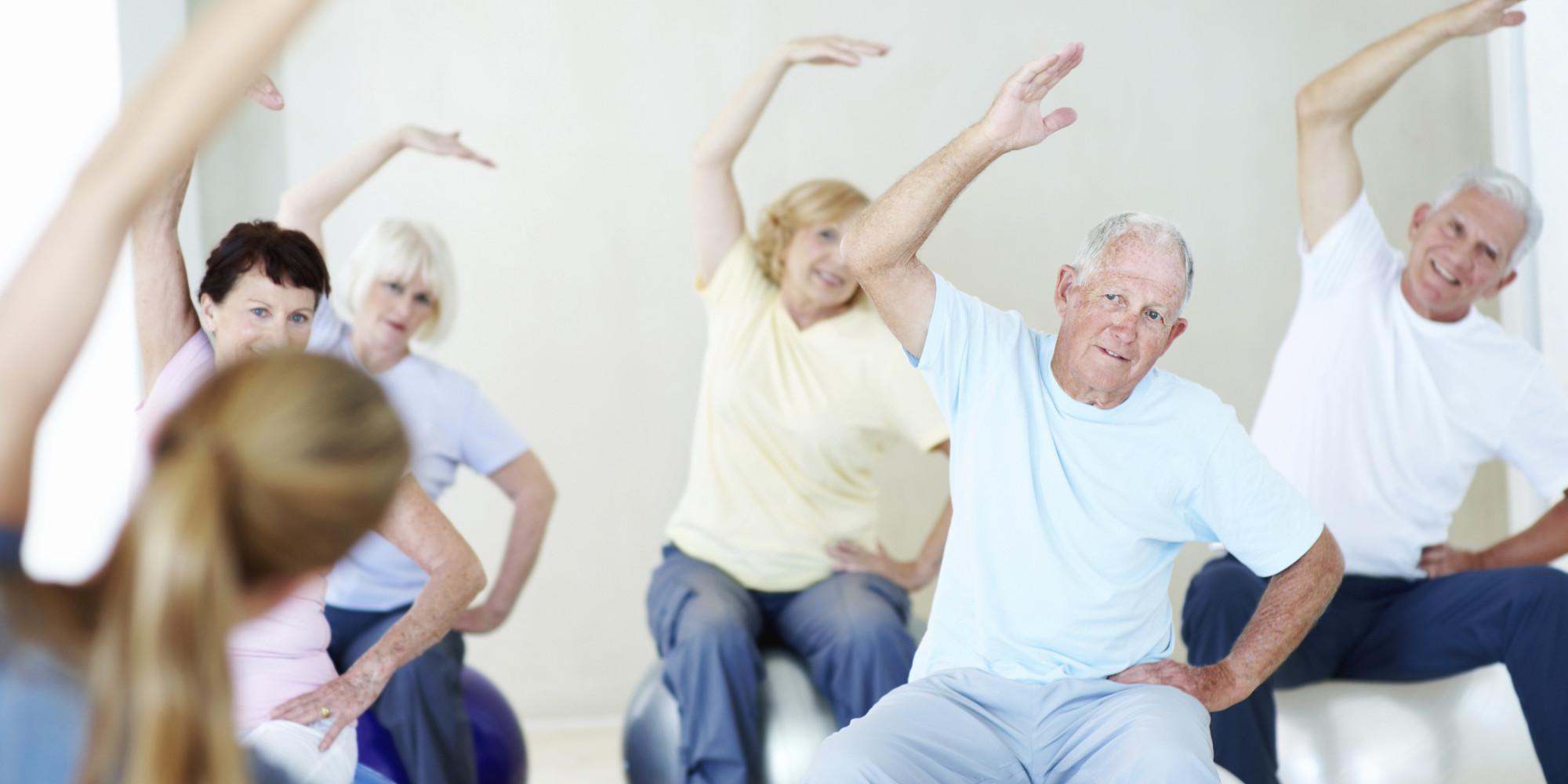 Exerciții pentru persoane în vârstă, Foto: huffingtonpost.com