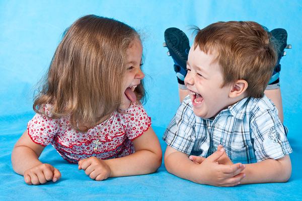 Râsul unui copil îți schimbă în bine starea de dispoziție, Foto: ice-dent.ru