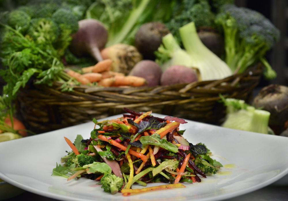 Salată, Foto: pressherald.com