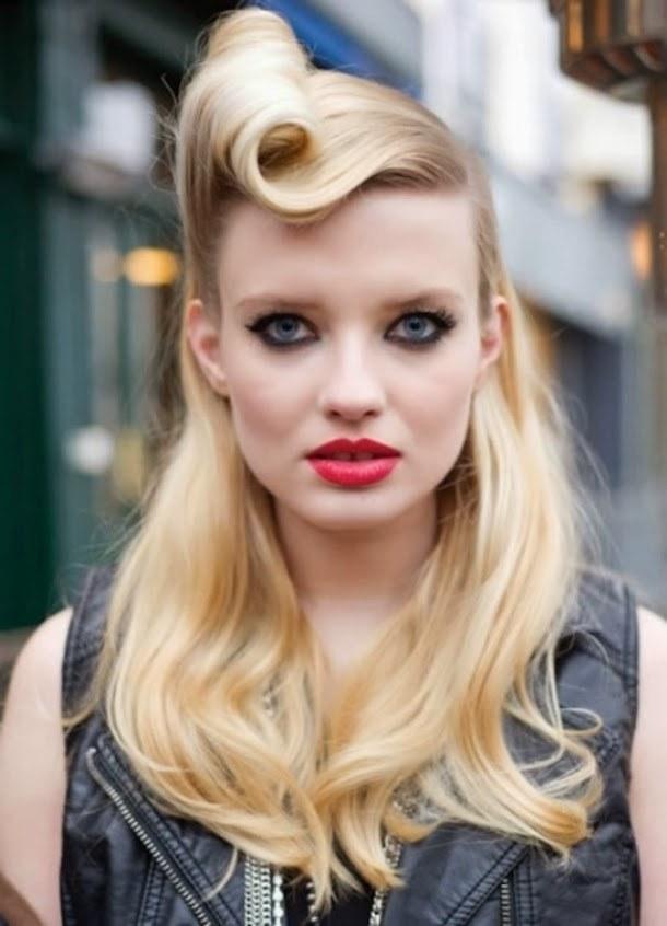 Tunsoarea pin-up a revenit în tendințele modei, Foto: blogcuzehra.blogcu.com