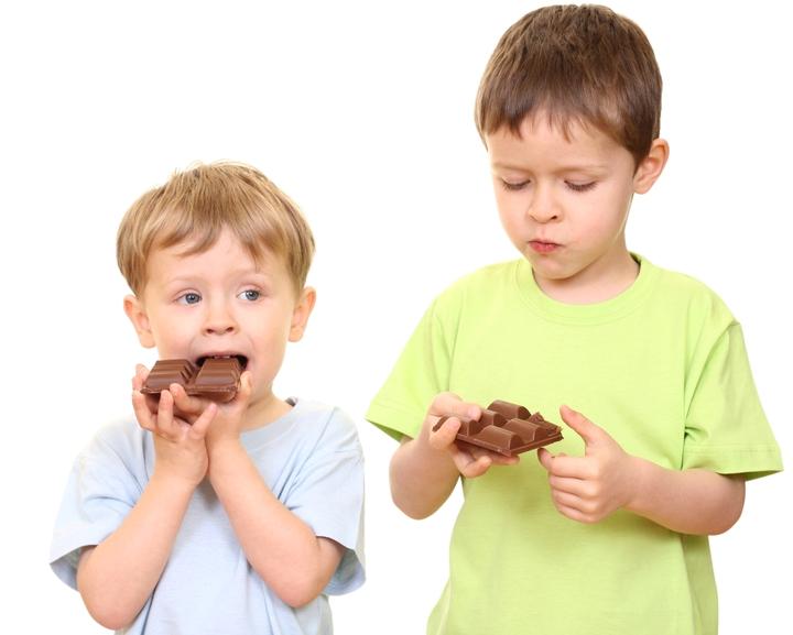 Ciocolata în cantitate mare nu este bună pentru copii, Foto: bt-women.com.ua