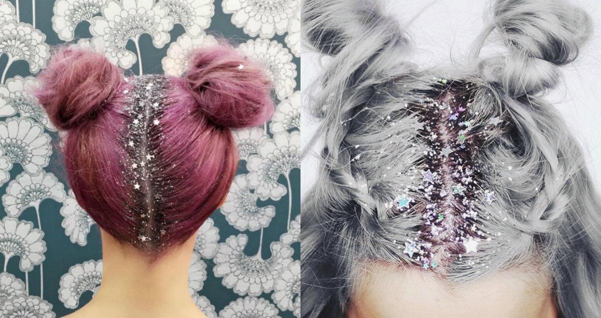Coafurile cu glitter, Foto: pretty-hairstyles.com