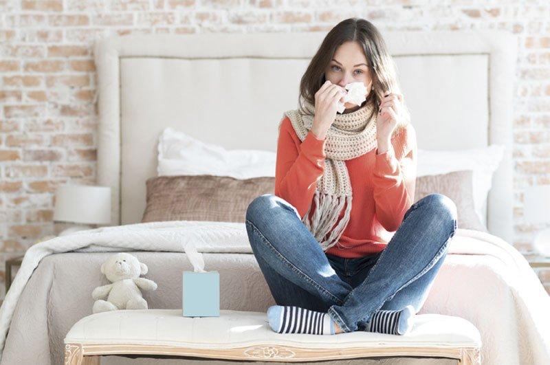 Fata cu probleme respiratorii