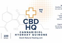 Cannabidiol HQ (Hidroxi Chinona)