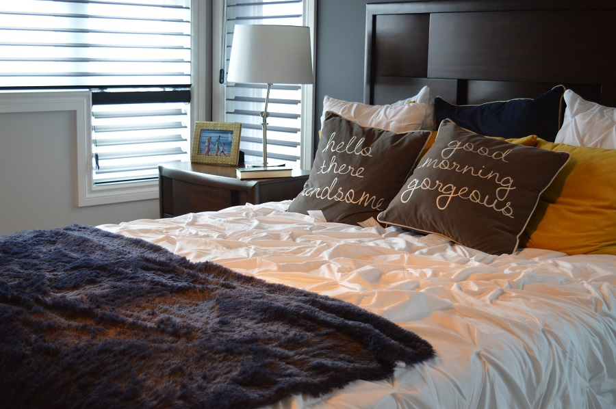 lenjeria de pat din bumbac finet de lux
